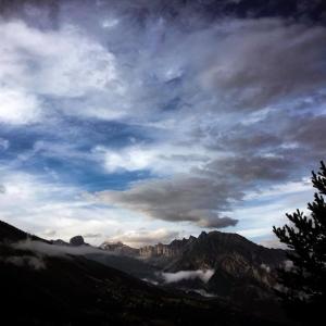 Sanetch-Valais, un soir d'été