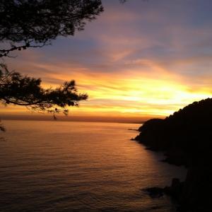 Majorque. lumière de fin de journée